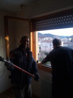 Montador profesional de ventanas