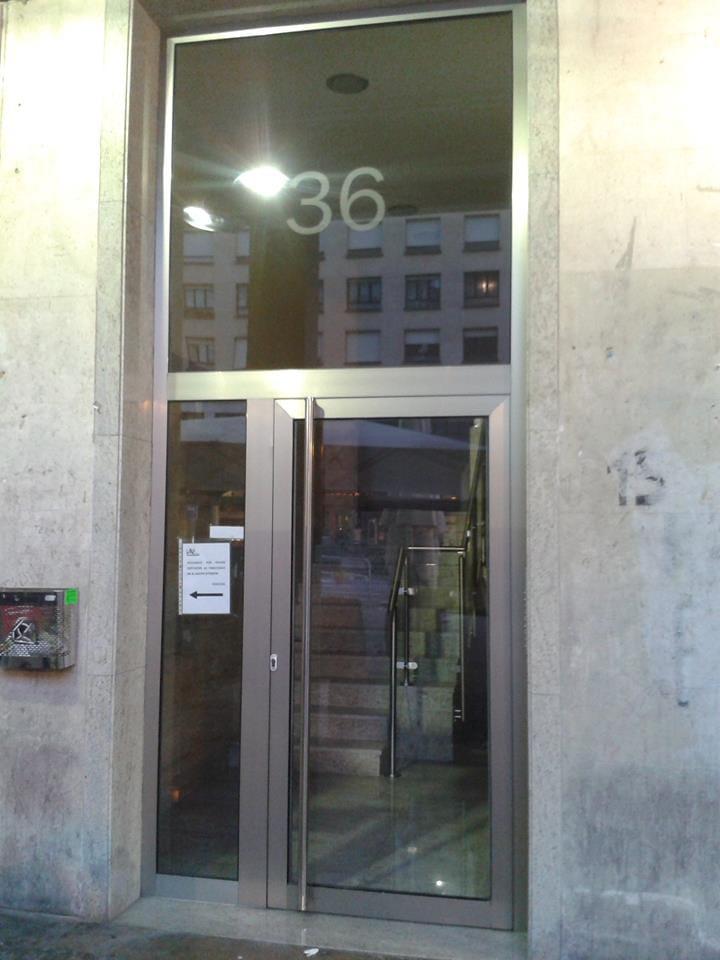 Puerta de acceso de portal