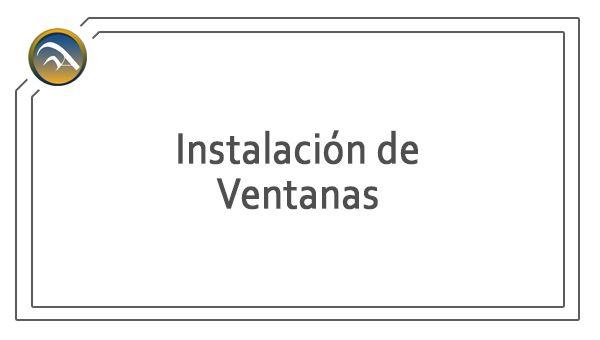 Servicio - Instalacion ventanas aluminio y PVC - pamplona
