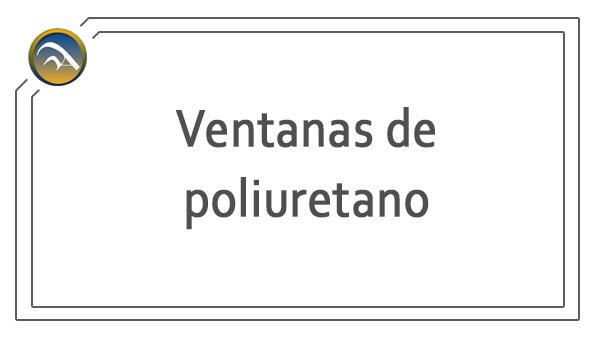 Ventanas de poliuretano en Pamplona