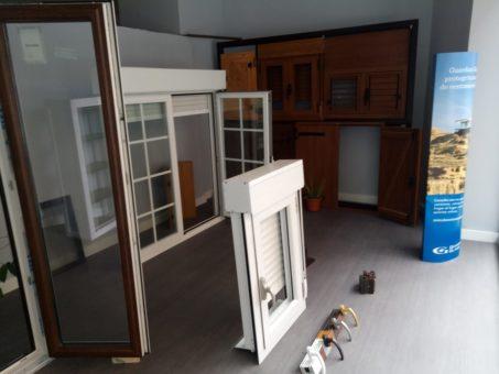 Esposicion Muestrario de ventanas de aluminio y PVC Pamplona (3)