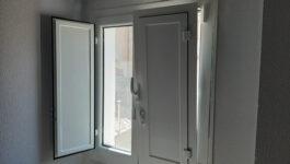 Ventanas de aluminio con rotura de puente térmico , ventanillos y mosquiteras en Pamplona