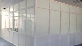 Cerramiento de aluminio interior