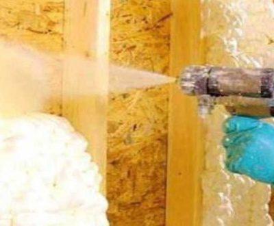 Espuma de poliuretano proyectado